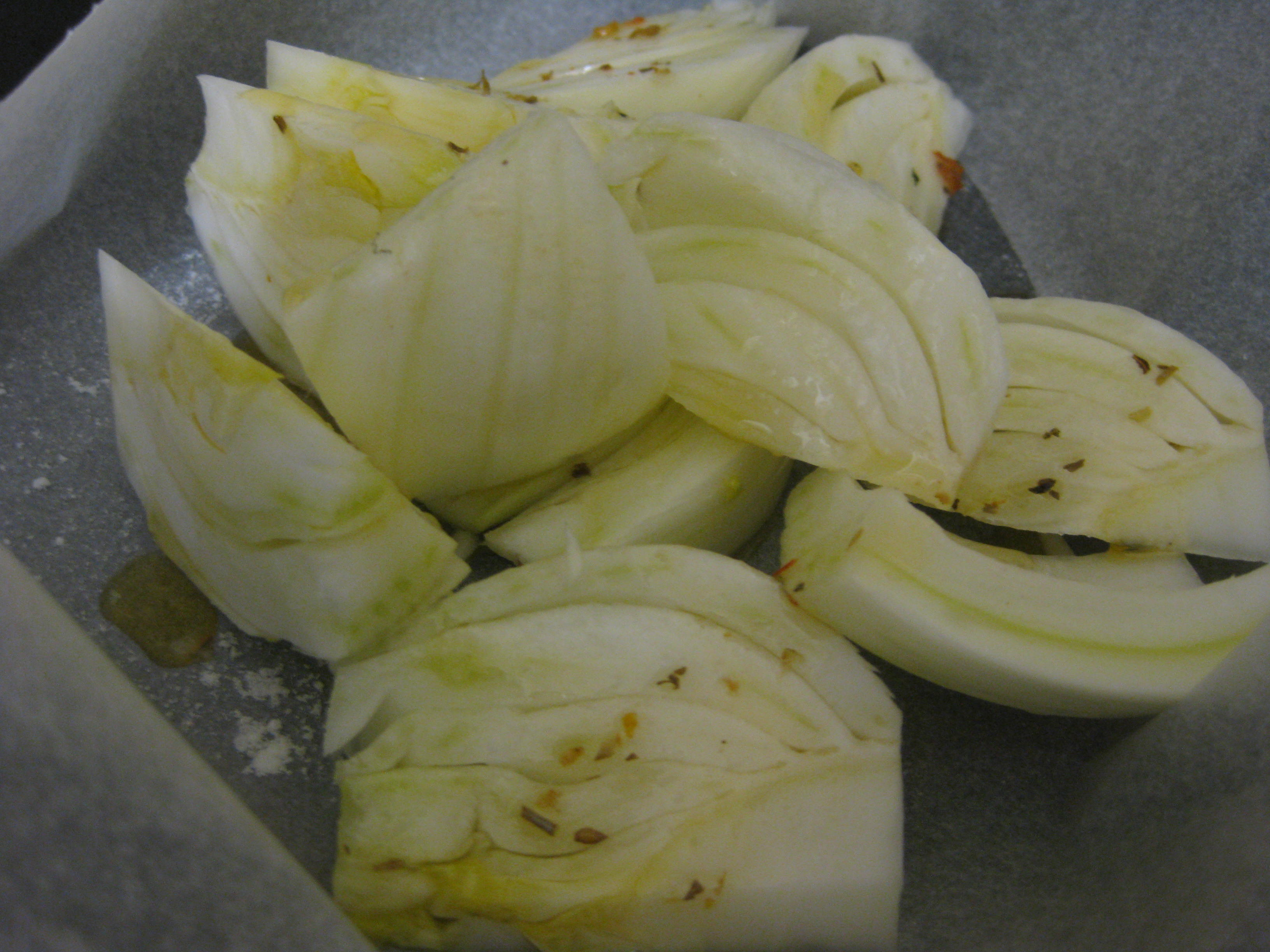 how to cut fennel wedges