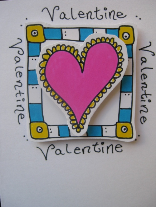 Valentine's Card Home Made